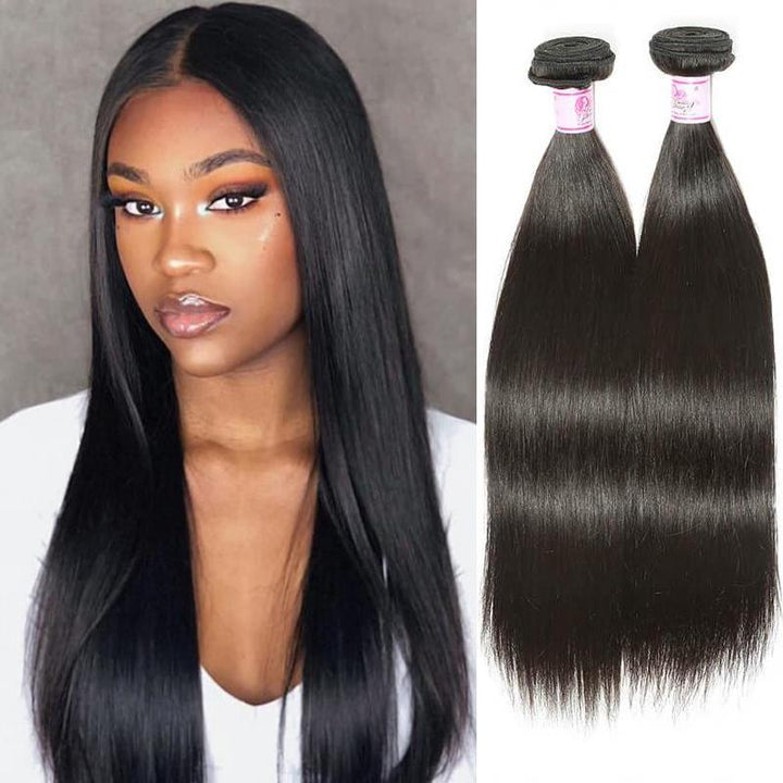 Peruvian Virgin Hair Weave Bundles Straight Hair