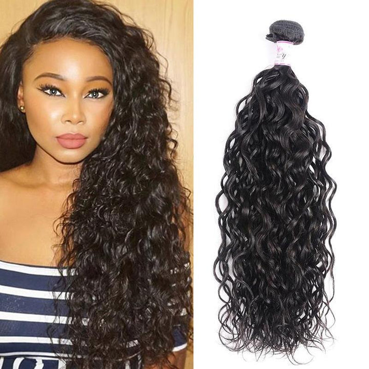 Peruvian Virgin Hair Weave Bundles Water Wave Hair