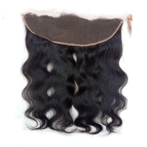 Brazilian Hair 3 Bundles with Lace Frontal Body Wave Hair 100% Human Hair