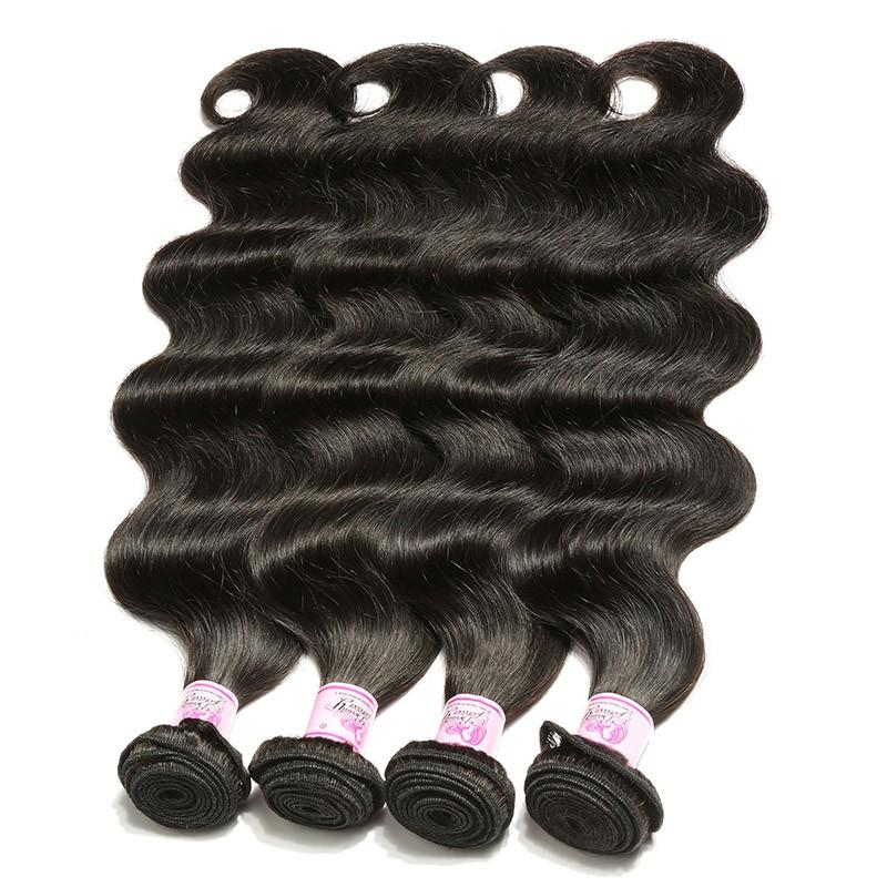 Malaysian Virgin Hair Weave 4 Bundles Body Wave Hair 100% Human Hair