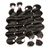 Brazilian Virgin Hair Weave 4 Bundles Body Wave Hair 100% Human Hair