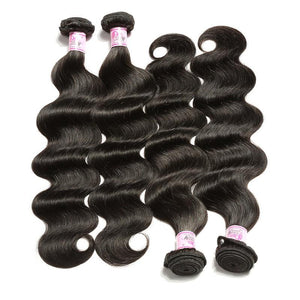 Malaysian Virgin Hair Weave Bundles Body Wave Hair 100% Human Hair