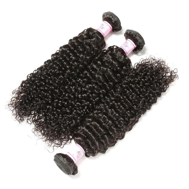 Malaysian Virgin Hair Weave 3 Bundles Curly Hair 100% Human Hair