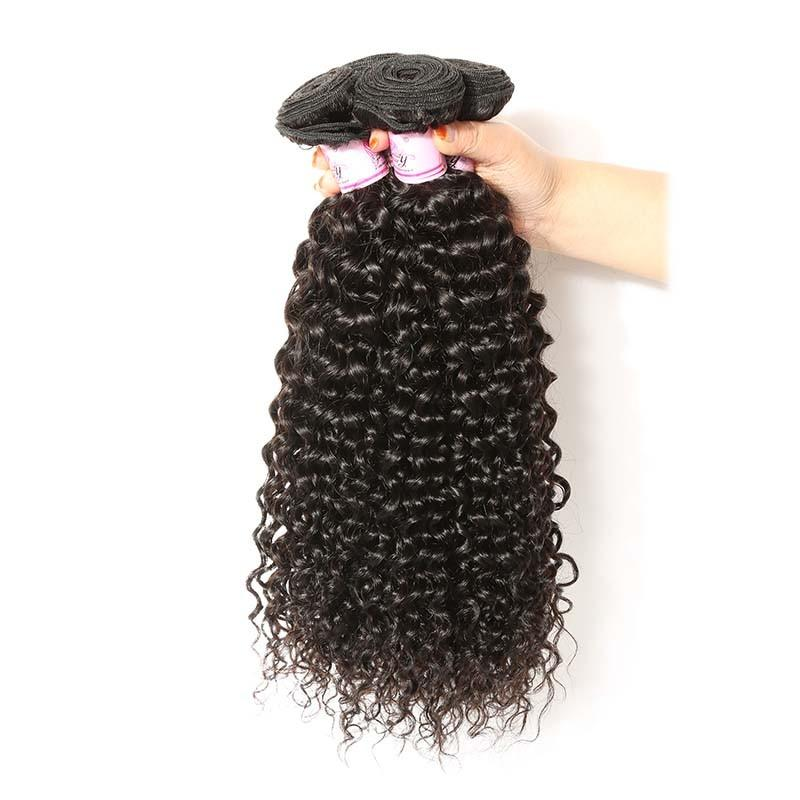 Malaysian Virgin Hair Weave 4 Bundles Curly Hair 100% Human Hair