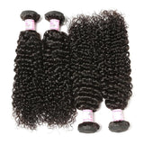 Peruvian Virgin Hair Weave 4 Bundles Curly Hair 100% Human Hair