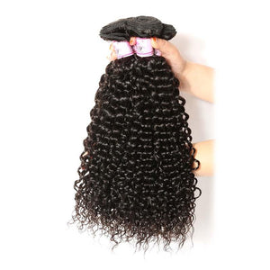 Peruvian Virgin Hair Weave Bundles Curly Hair 100% Human Hair