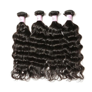 Brazilian Virgin Hair Weave 4 Bundles Deep Wave Hair