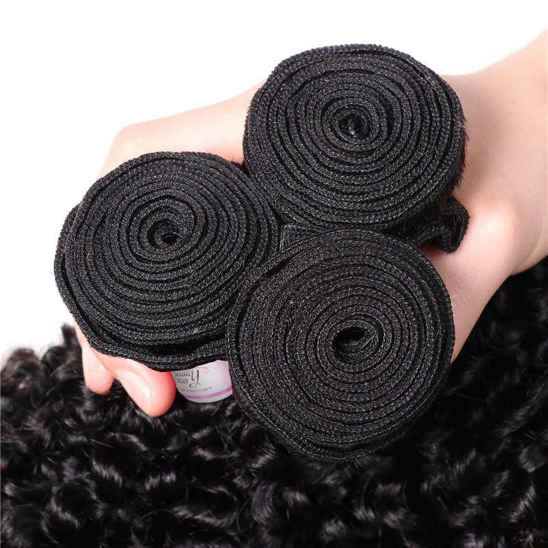 Peruvian Virgin Hair Weave 3 Bundles Kinky Curly Hair 100% Human Hair