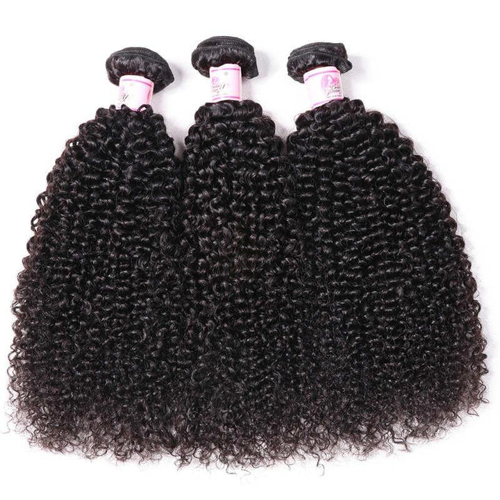 Brazilian Virgin Hair Weave 3 Bundles Kinky Curly Hair