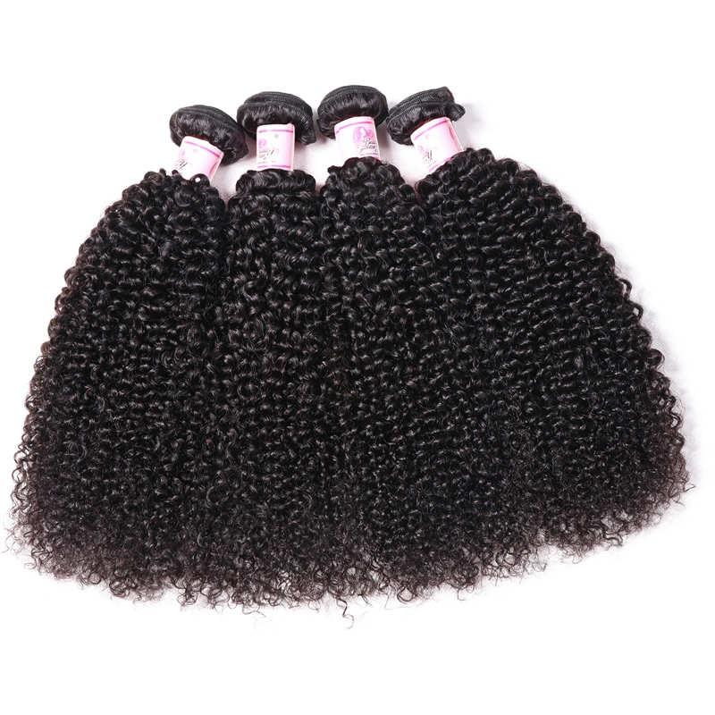 Brazilian Virgin Hair Weave 4 Bundles Kinky Curly Hair
