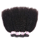 Brazilian Virgin Hair Weave 4 Bundles Kinky Curly Hair 100% Human Hair
