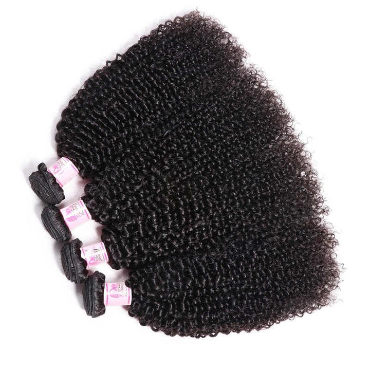 Malaysian Virgin Hair Weave 4 Bundles Kinky Curly Hair