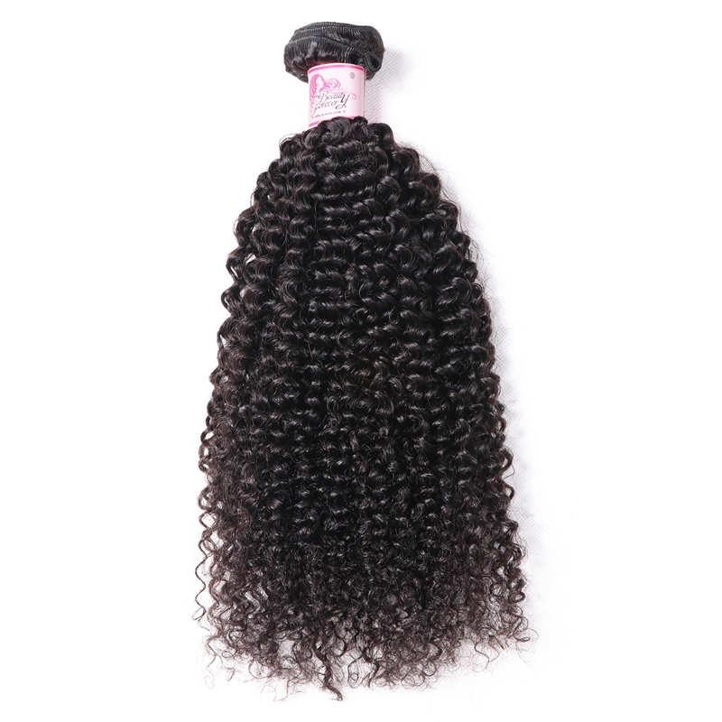 Indian Virgin Hair Weave Bundles Kinky Curly Hair 100% Human Hair