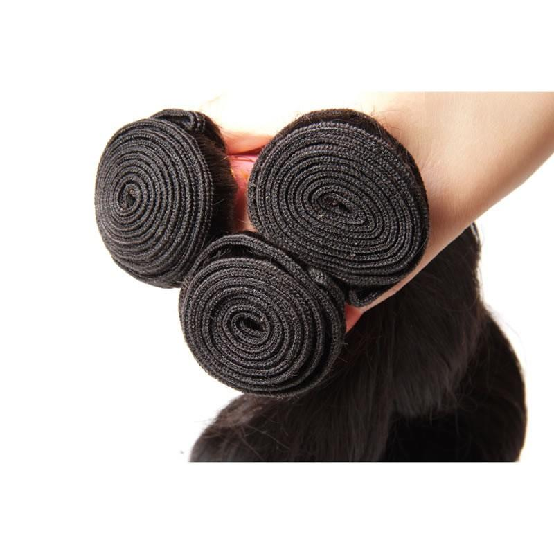 Indian Virgin Hair Weave Bundles Loose Wave Hair 100% Human Hair