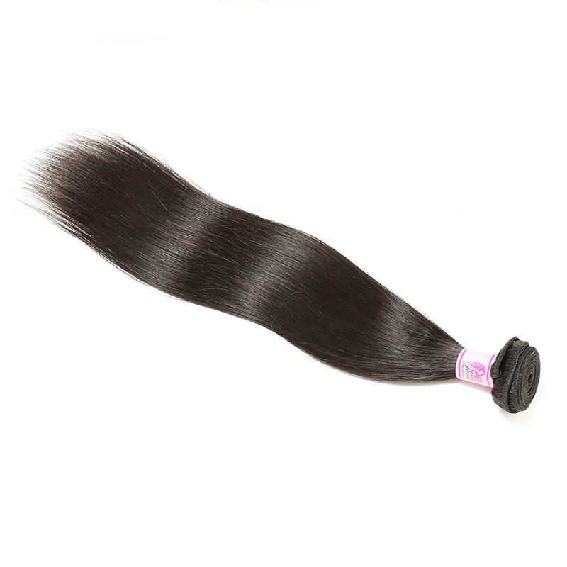 Indian Virgin Hair Weave Bundles Straight Hair 100% Human Hair