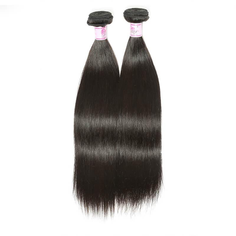 Malaysian Virgin Hair Weave Bundles Straight Hair 100% Human Hair
