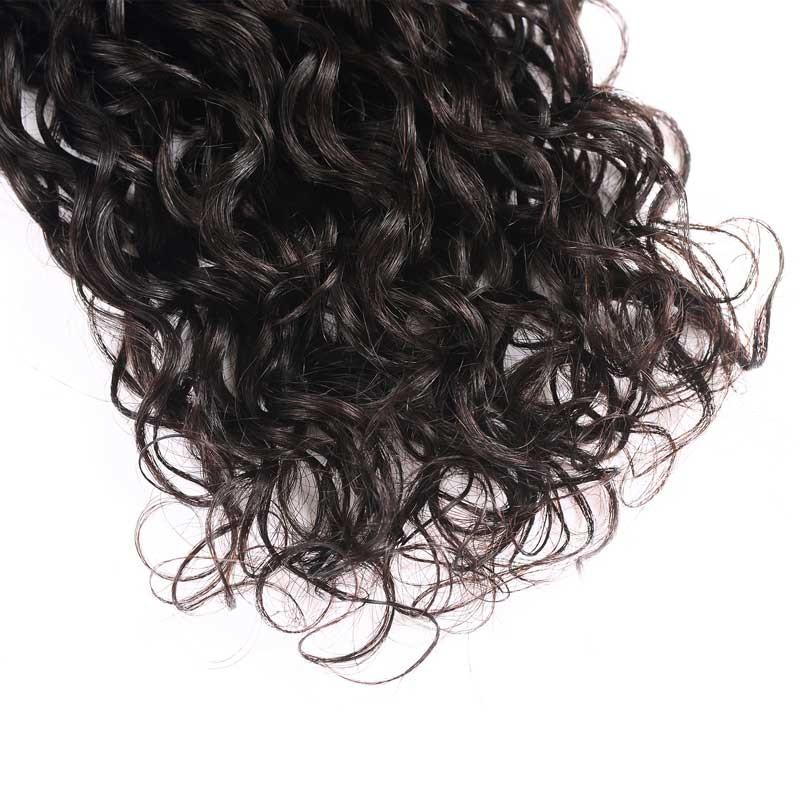 Indian Virgin Hair Weave 3 Bundles Water Wave Hair 100% Human Hair