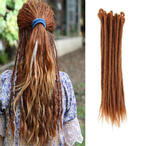 Dreadlock Extensions (#30 Light Auburn)