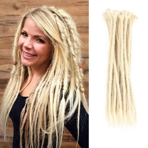 Dreadlock Extensions (#613 Blonde)