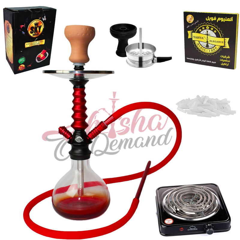 Yahya Starter Kit - Byblos | Shisha On Demand