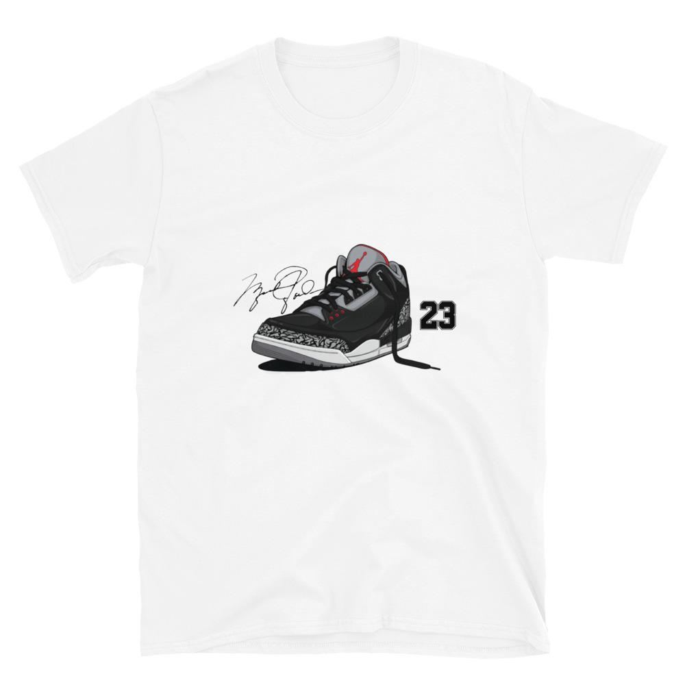 JAY'S 3 - Shirt Basketball T-Shirt Vintage 1990s Retro BLK