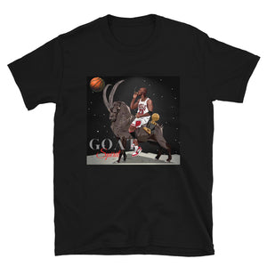 GOAT Spirit Basketball T-Shirt  Vintage 1990