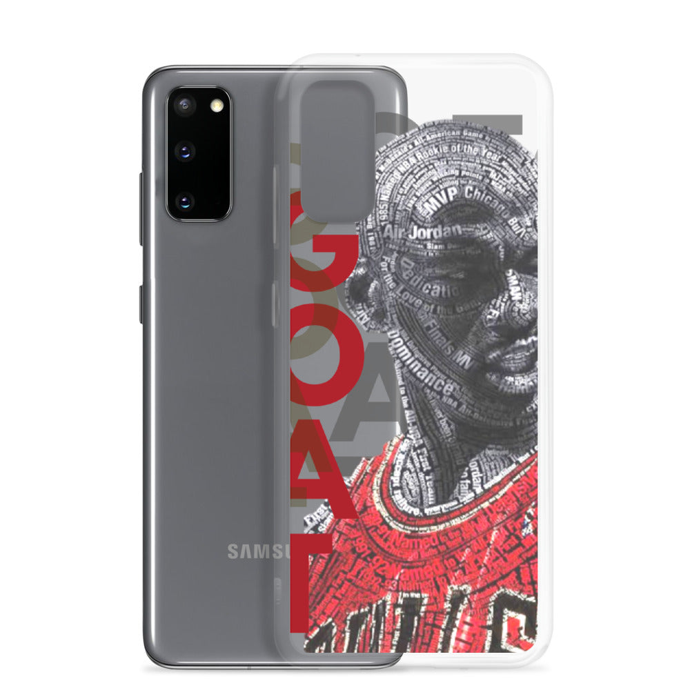 GOAT Samsung Cases