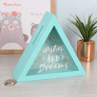 Wishes And Dreams Triangle Money Box Image