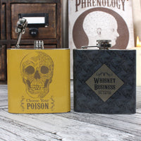 Choose Your Poison Hip Flask Image