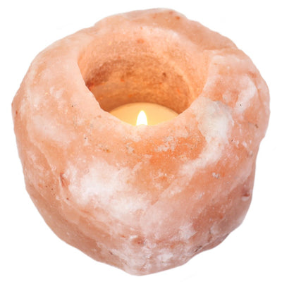 Single Salt Candle Holder Image
