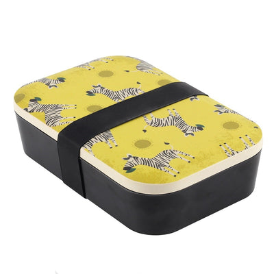 Ziggy Zebra Bamboo Lunch Box Image