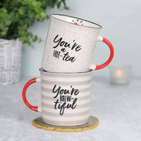 You're Brew-tiful Couples Mug Set Image