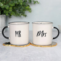 Mr and Mrs Mug Set Image