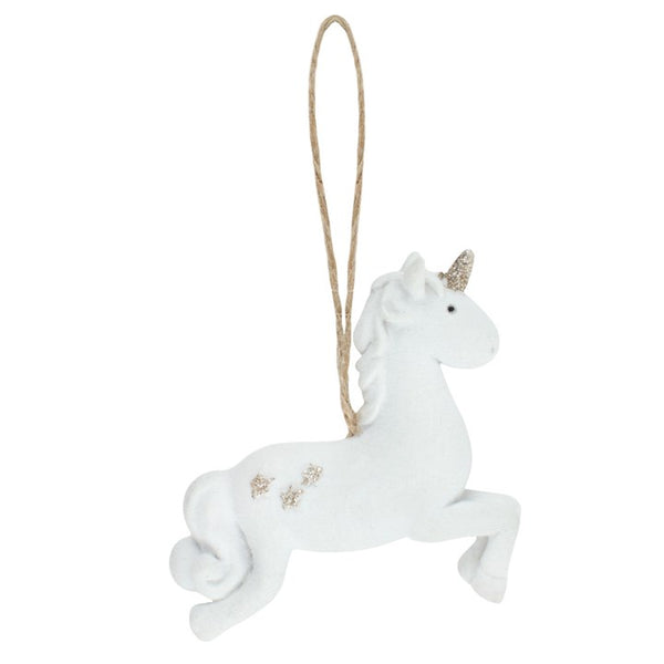Leaping Unicorn Decoration Image