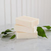 Best Natural Soap for Eczema - lifestyle stacked soap
