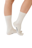 socks for itchy feet - Remedywear white socks