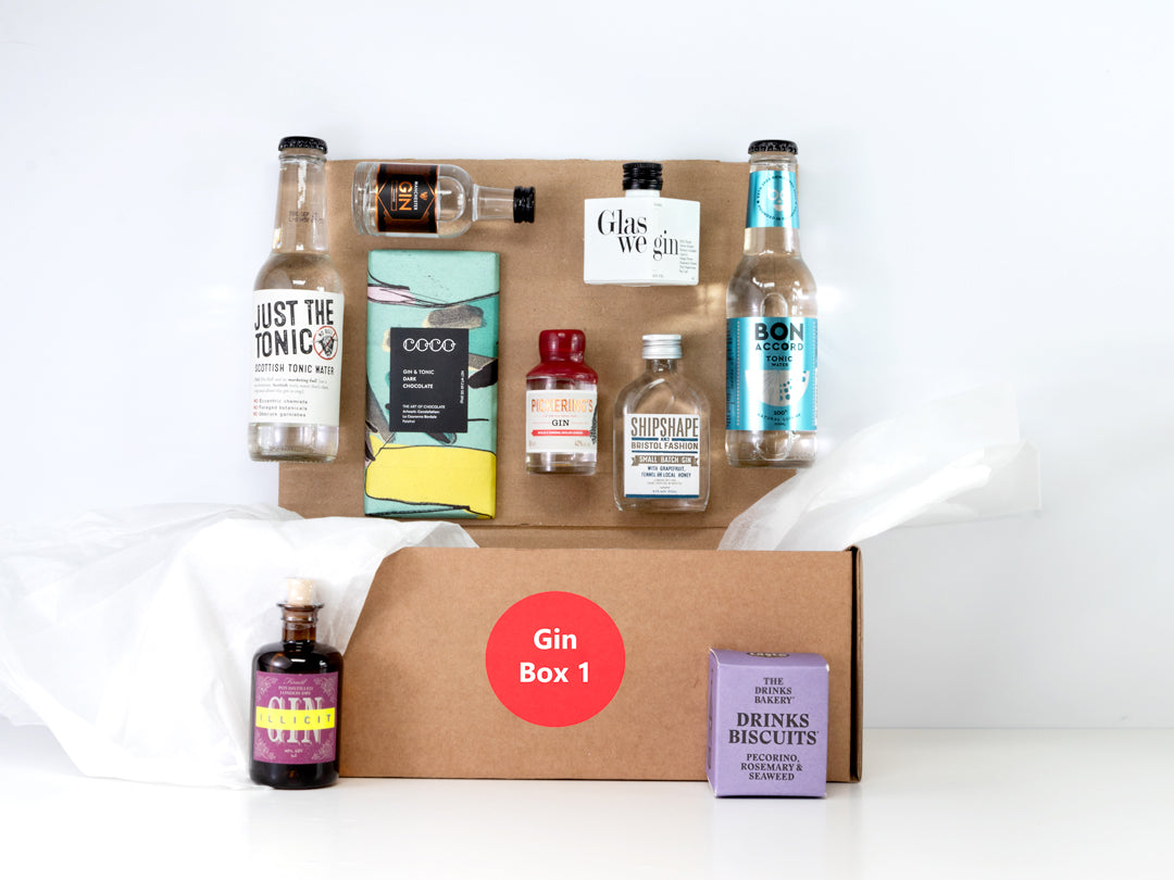 Miniature Gin Gift Box - Limited Edition