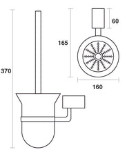 Load image into Gallery viewer, SQ Toilet Brush Holder