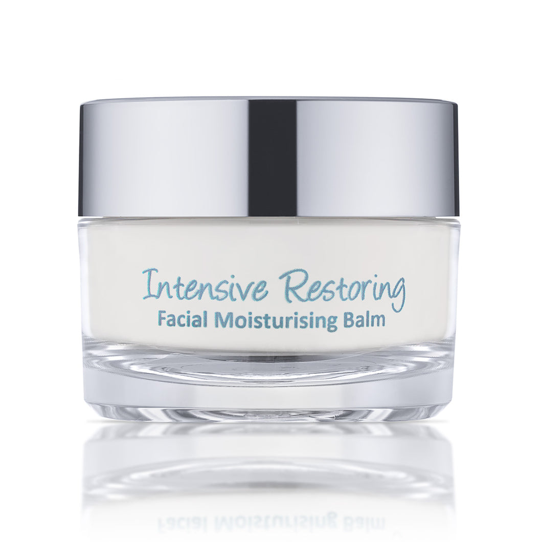 Intensive Restoring Moisturizing Facial Balm - Best Face Oil for Dry Skin - Sensitive Skin