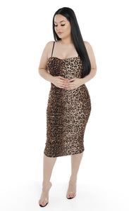 Kaylee Dress Leopard