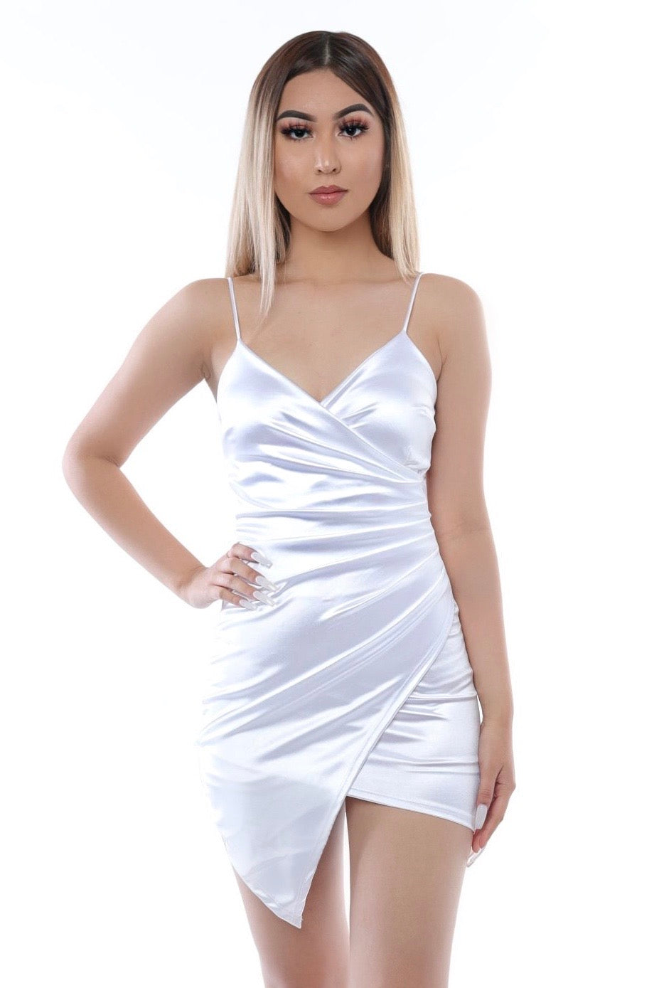 Sweetheart Dress- White