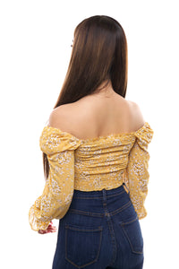 Valentina Top- Yellow