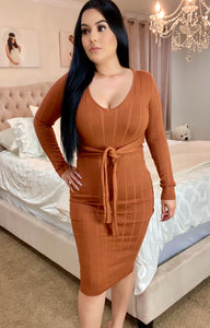 Maree Dress- Rust