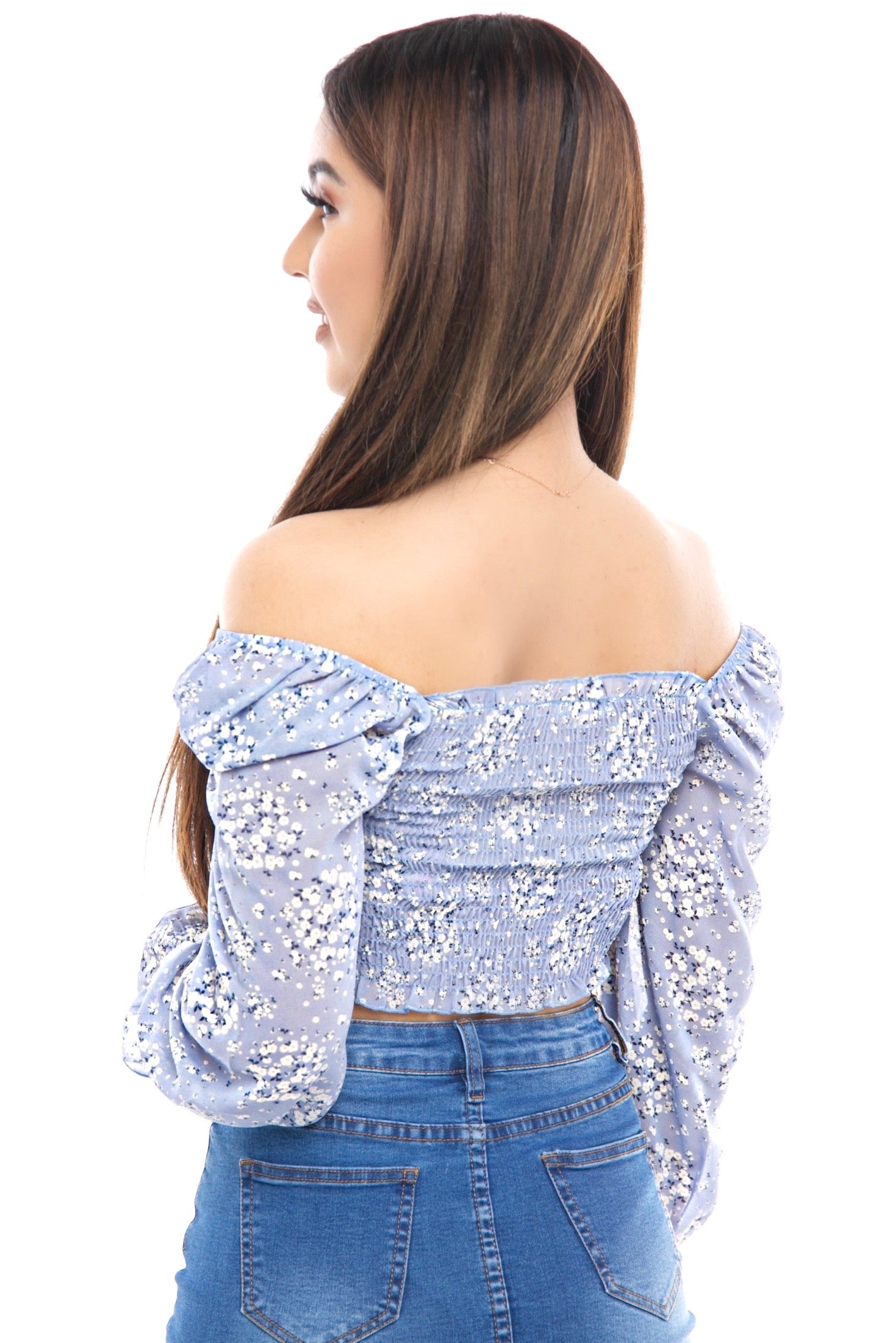 Valentina Top- Blue