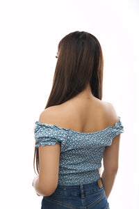 Mila Top- Sky Blue