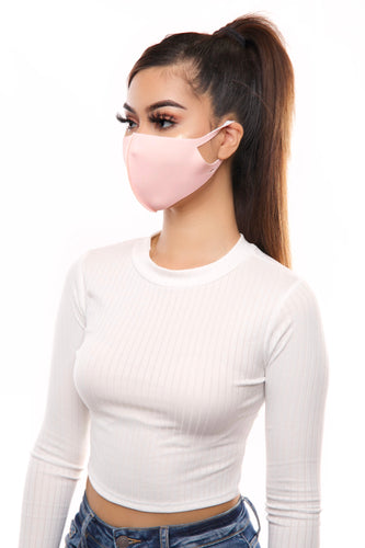 Fashion Mask- Pink