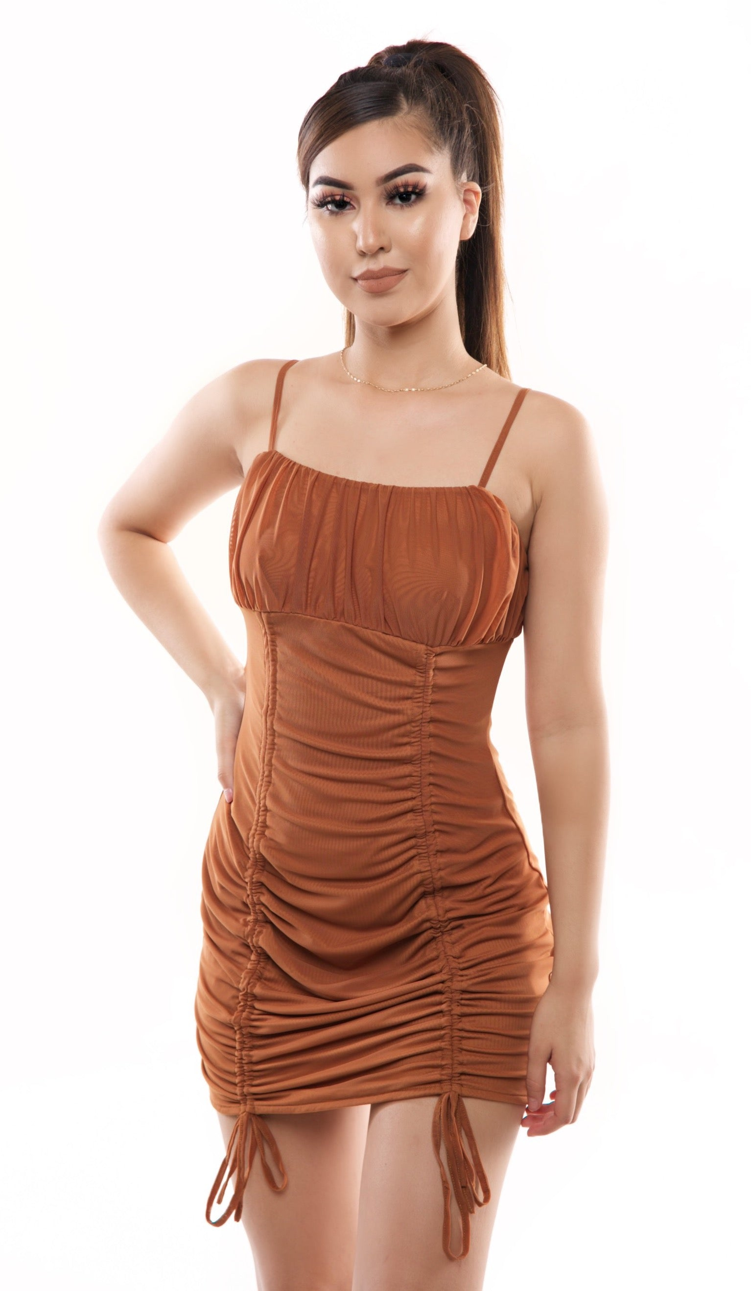 Fari Dress- Taupe