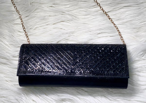 Date Night Clutch Bag- Black