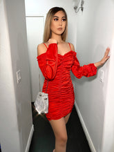 Load image into Gallery viewer, Be Mine Dress- Red