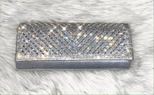 Load image into Gallery viewer, Date Night Clutch Bag- Silver